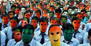 Golden-Book-of-World-Records-Most-People-Wearing-Masks-of-Vegetables-simultaneously-Future-Group-of-Institutions-Bareilly-Uttar-Pradesh-India_GBWR