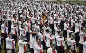Golden-Book-of-World-Records-Most-People-Wearing-Skeleton-Mask-Simultaneously-Invertis-University-Bareilly-Uttar-Pradesh-India_GBWR