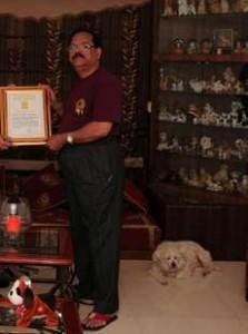 Pradip Janwade-Raipur, Chhattisgarh-largest number of dogs memoralilia-World-Record-holders-club-WRHC_Compress