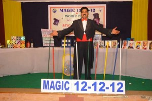 World Records-longest magic show by a single person-S Manohara Rao-Stick Manohar- Andhra Pradesh, India_GBWR