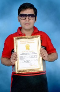 Himanshu Punjabi-Raipur, Chhattisgarh-largest number of songs memorized and sung in live shows-World-Record-holders-club-WRHC_Compress