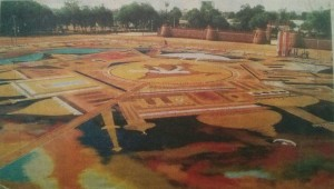Golden-Book_of_World-Records-largest-Rangoli-created-by-an-individual-Pralhad-Thak-Warora-Maharashtra-India