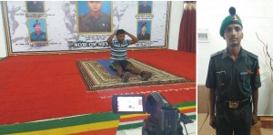 Golden Book of World Records-most number of sit-ups in Six hours-Ramu K-Army Camp, Pallavaram-Tamilnadu-India gbwr