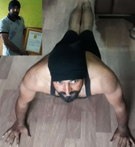 Golden-Book-of-World-Record-most-half-push-ups-in-one-hour-Mr.-Umesh-Vyavahare-Solapur-Maharashtra-India.gbwr